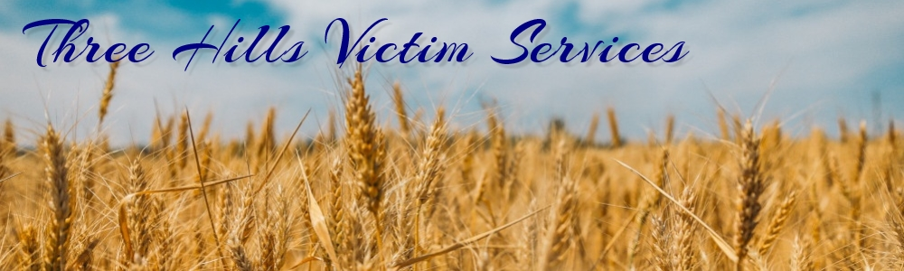 Victim Services in Three Hills provides victims of crime and tragedy with support, information, and appropriate referrals.
