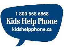 The services provided by Kids Help Phone are available in all communities, providing any child the opportunity to talk if they want to.